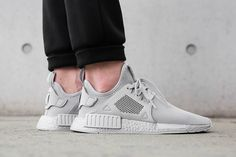 33ce40379dc0 On-Foot  adidas NMD XR1  Triple Grey  - EU Kicks  Sneaker