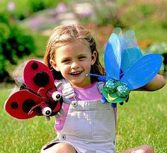Puppets from the Garden http://www.bhg.com/crafts/kids/o...
