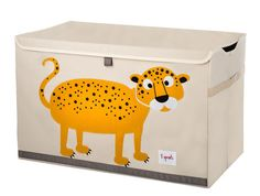 leopard 3 sprout toy chest