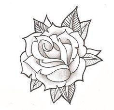 Roze von thingthatcandoit auf DeviantArt - Roze by thingthatcandoit Imágenes efectivas que le proporcionamos sobre diy surgical mask free patt - Rose Outline Drawing, Rose Drawing Tattoo, Tattoo Design Drawings, Outline Drawings, Flower Tattoo Designs, Tattoo Sketches, Rose Outline Tattoo, Rose Drawings, Rosa Stencil