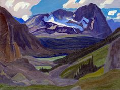 J. E. H. MacDonald. 'Mount Oderay' 1930