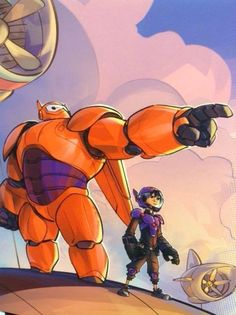 Big Hero 6 I think this is one of the best, most underrated Disney movies. (Along with Treasure Planet, Atlantis, Hercules...etc.)