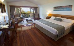 Guest Room at 5 star hotel: Thala Beach Nature Reserve and Lodge. This hotel's address is: 4877 and have 83 rooms Beach Accommodation, Great Barrier Reef, Romantic Getaway, Nature Reserve, Pacific Ocean, 5 Star Hotels, Guest Room, Two By Two, Australia