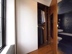 Very solid doors with hidden hinges.