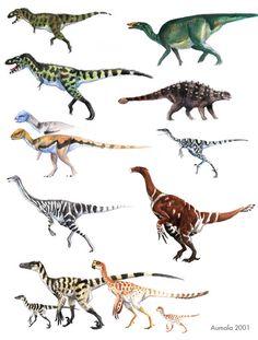 Dinosaurs.  Fuck Yeah, Dinosaur Art!