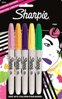 Sharpie 80's Glam Collection