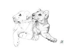 Estou trabalhando neste sketch que fiz dos lindos leõezinhos #BabyGorakhBJWT e #BabySonnyBJWT, hóspedes célebres da Black Jaguar White Tiger Foundation. Sou fã destas lindas criaturinhas amorosas e divertidas.  O sketch foi feito em grafite e escaneado. A próxima etapa é tratar digitalmente, inserindo as sombras e highlites, cores, texturas e um background interessante. Publicarei o progresso deste trabalho que estou fazendo nas minhas horas vagas.