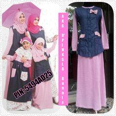 Abaya Pink Salur Dannis