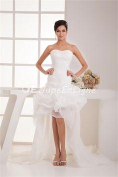 Robe de mariée simple fantastique  Col en cœur doux A-ligne en Satin http://www.jupeenligne.com/Robe-de-mariée-simple-fantastique-Col-en-cœur-doux-A-ligne-en-Satin-p22061.html