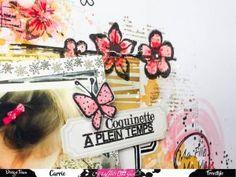 "Page patouille ""La vie est belle"" Graffiti Girl"