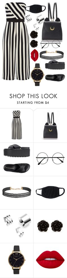 """Untitled #83"" by lolipop308 ❤ liked on Polyvore featuring Coast, WithChic, Windsor Smith, Humble Chic, Erica Lyons, Olivia Burton and Lime Crime"
