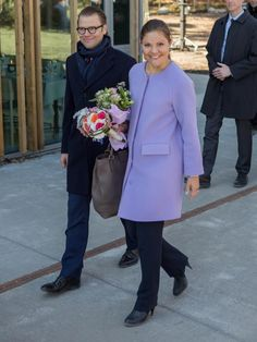 Crown Princess Victoria and Prince Daniel of Sweden 5/2/2013