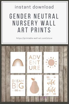 Set of 6 gender neutral nursery instant download prints. Boho wall art featuring a rainbow, sun, pear and quotes, in earthy terracotta shades. #bohonursery #nurserywallart #nurseryprintables #printables #instantdownload #genderneutralnursery #nurserytrends #trendingnursery