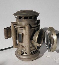 C.T. HAM MFG CO ANTIQUE OIL LAMP AUTO LANTERN MOTORCYCLE BICYCLE DIAMOND LA in Collectibles, Collectibles | eBay