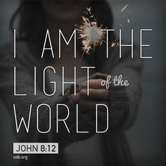 Jesus can change our perspective on everything. ~ Only as we walk in Christ's light can we live in His love. ~ Lord Jesus, You are the one constant in this chaotic world. Thank You for being the one true Light that the darkness can never extinguish. ~ ODB
