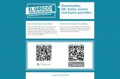QR-Rally: El Greco & Die Moderne