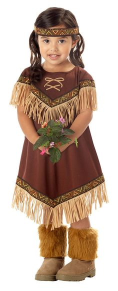 Lil' Indian Princess Toddler / Child Costume