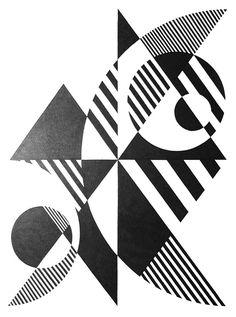 Notan Art, Geometric Shapes Art, Geometric Designs, Art Optical, Composition Design, Shape Art, Illusion Art, Elements Of Art, Op Art