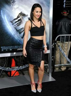 The American actress Francia Raisa was dressed to kill at the premiere of Project Almanac in Hollywood on January The actress… Francia Raisa, Hollywood Celebrities, Hollywood Actresses, In Hollywood, Project Almanac, Kelly Brook, Bikini, Hourglass Figure, Dressed To Kill