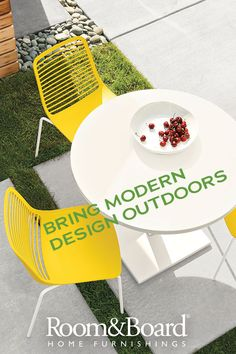 Outdoor furniture ideas start here. We have everything you need to create a modern outdoor space.