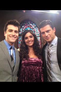 Sonny , Gabi , Eric Days of our Lives 2014