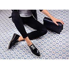 Pantofi Oxford din piele naturala negri Cuba Stella Mccartney Elyse, Cuba, Wedges, Shoes, Fashion, Moda, Zapatos, Shoes Outlet, Fashion Styles