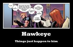 Hawkeye is the best Avenger #funny #lol #humor