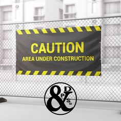 Construction banners are inexpensive to create and can be very effective marketing signs to alert the community of your project as it is being constructed. Mesh Banner, Pvc Banner, Hanging Banner, Banner Store, Outdoor Vinyl Banners, Street Banners, Sign Solutions, Floor Graphics, Event Banner