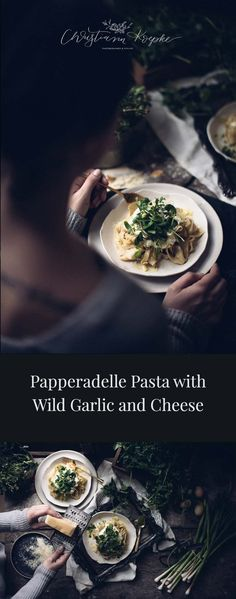 Enjoy this papperadelle pasta recipe, with ricotta, wild garlic, browned butter, and parmesan, brought to life through a reader-inspired collaboration!