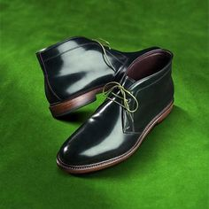 Green with envy? How do you like these special St Patrick's Day #Cordovan #Dundees? Talk about the luck of the Irish. #stpatricksday