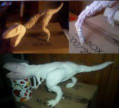 Fondant dinosaur