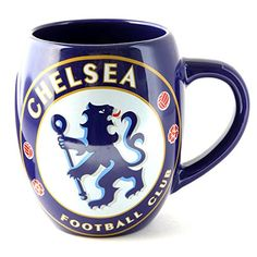 Chelsea FC Official Ceramic Football Crest Tea Mug Ceramic tea mug with official Chelsea FC branding. Comes supplied in an plastic gift box, making it an ideal gift for any Chelsea FC fan. Not dishwasher safe. Do not microwave. Size (approx): x x Chelsea Soccer, Chelsea Blue, Chelsea Fc, Fan Gif, European Soccer, Tea Mugs, Soccer Ball, Blue And White, Branding