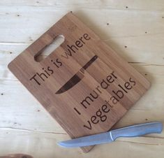 funny gifts for boyfriend . funny gifts for men . funny gifts for best friend . funny gifts for christmas . Engraved Cutting Board, Diy Cutting Board, Wood Cutting Boards, Bamboo Cutting Board, Bamboo Board, Wood Burning Crafts, Wood Burning Patterns, Wood Burning Art, Vegan Gifts