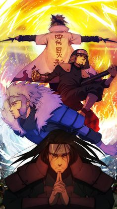 1st - 4th Hokages