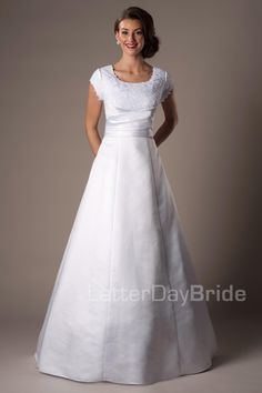 Campbell - Modest Wedding Dress