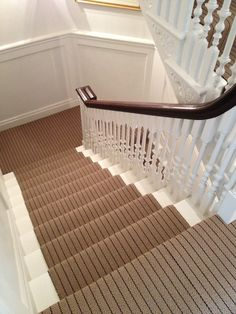 Stripey Striped Stair Carpet From Wwwthetreasurehunteruk