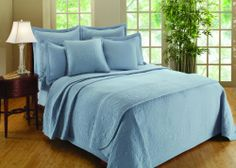 Prettiest Blue Bedspreads