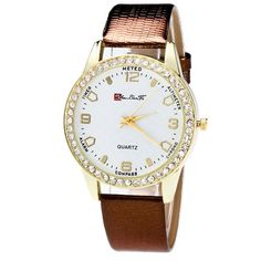 New fashion ladies leather watch white quartz women Candy Color Male And Female Strap Wrist Watch
