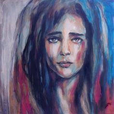 "Saatchi Online Artist Suhair Sibai; Painting, ""Imagine #2"" #art"