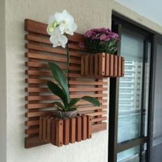 42 Ideas house garden terrace planters for 2019 Garden Rack, Herb Garden, Decoration Plante, House Plants Decor, Deco Floral, Plant Wall, Wood Wall Art, Garden Design, Pergola