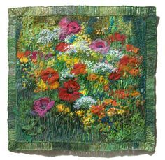Embroidery & Textile Art | Flowers - Preview | Natalia Margulis - Textile & Embroidery Artist