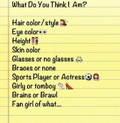 What do you think I am?
