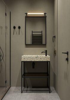 Moscow Russia, Apartment Interior Design, Bathrooms, Behance, Green, Bathroom, Full Bath, Bath