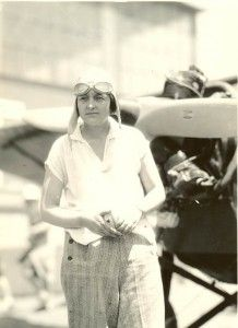April 17, 1921 Pilot and wingwalker Phoebe Omlie made her first parachute jump but landed in a clump of trees. She became much better at parachuting, claiming the highest parachute jump by a female and landing the job of aerobatic stunt pilot for the movie The Perils Of Pauline. Omlie was known for dancing the Charleston from the top wing of a plane and dangling by her teeth.