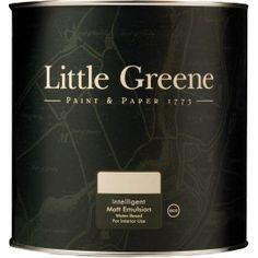 Little Greene Intelligent Matt Emulsion Paint http://www.thedecoratingcentre.co.uk/little-greene-intelligent-matt-emulsion-paint.html