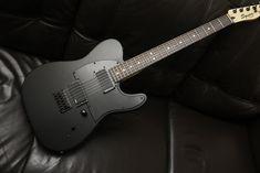 DeadEye Guitars: Custom Modified Squier Jim Root by DeadEye Custom Electric Guitars, Custom Guitars, Guitar Amp, Cool Guitar, Jim Root, Telecaster Guitar, Black Telecaster, Telecaster Custom, Fender Guitars