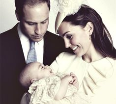 New Prince George's Royal Christening portrait by Jason Bell