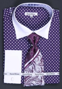 Get Discounts on ID Avanti Uomo Orange Polka Dot Two Tone Design Cotton Dress Cheap Fashion Clearance Shirt Sale Online For Men / Tie / Hanky Combo With Free Cufflinks Cheap Fashion, Mens Fashion, Fashion Suits, Dress Shirt And Tie, French Cuff Dress Shirts, Suit Accessories, Shirt Sale, Purple Fashion, Well Dressed Men