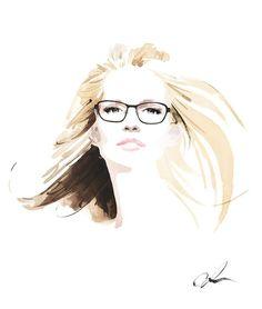 CAROLINE [Illustration by Christian David Moore]
