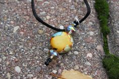 Necklace  33 by 100PaintedNecklaces on Etsy, $21.00 Purchases support a small art school in rural central Illinois!